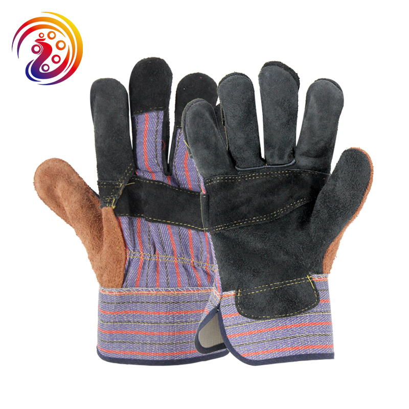OLSON DEEPAK Leather Transport Carrying Factory Driving Gardening Protective Work Gloves HY024 Free Shipping long yi and zhen shuang fu jade bracelet to help transport carrying 8000050 mascots