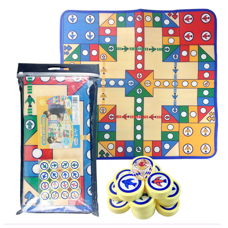 Infant Baby Crawling Pad Kids Chess Game Blanket Baby Gym Activity Playmat Children's Chess Games Board Large Play Carpet