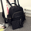 Favocent 2017 Fashion Cute  School  Bags for Teenagers  Black  PU leather backpack Korean student Notebook Bag for Girls