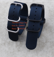 Wholesale NATO G10 Watch Straps Military Nylon Strong Heavy Duty PVD Buckle 4 5 Rings Blue18