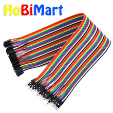 10pcs 30cm40pin DuPont cable line Jumper wire female to male jumper cable wires dupont line 1p Connector pcb Breadboard #D068