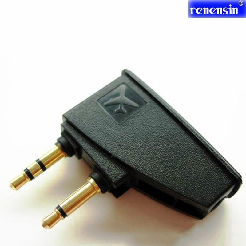 Renensin Pliable Adaptateur Plug Anti bruit Prise D'air À 3.5 MM Casque Jack Pour Bose QC15 QC2 QC3 QC20 QC25 3.5 mono stéréo jack