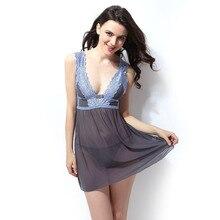 Lingerie babydo new night shirts lingerie babydoll night dress nightie women summer sleepwear camisa de dormir womens nightgown