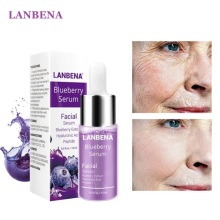 LANBENA Blueberry Hyaluronic Acid Serum Essence Oil Moisturizing Reduces Fine lines Whitening Anti-Aging Anti Wrinkle Skin Care