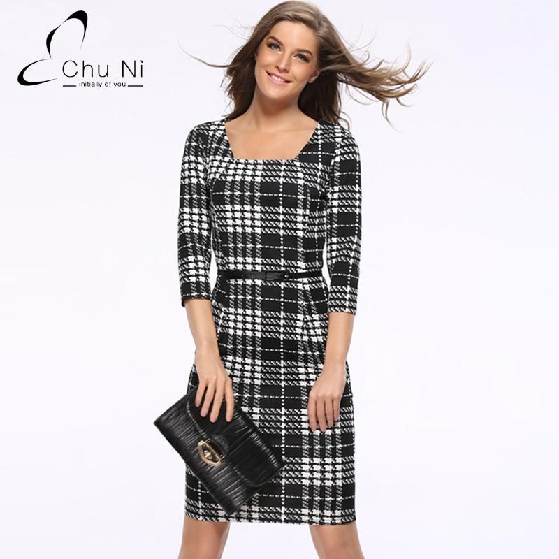 Chu Ni New Sale Elegant font b Women b font Casual font b Dress b font online buy wholesale 3x womens dresses from china 3x womens,3x Womens Clothing