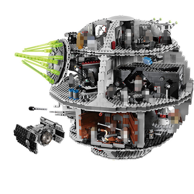 3803PCS Star Wars UCS Death Star Set Compatible LegoINGlys Building Blocks For Toddlers Clever Blocks Construction Toys For Kids