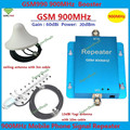 Full Set Ceiling Antenna + 13dB Yagi ! Gain 60dB GSM Repeater 900MHz Cell Phone Siganl Booster , GSM Signal Repeater Amplifier