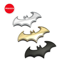 Noizzy Batman Robin Bat Logo Car Auto Badge Motorcycle Sticker Emblem 100% 3D Metal Chrome Gold Black SUV Tuning Car-Styling