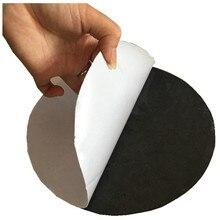 HE3D самоклеящийся нескользящий коврик нескользящий мембранный резиновый черный Диаметр 20 см толщина 2 мм для ciclop 3d Платформа для сканера стола