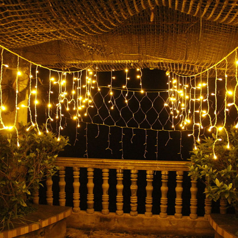 JULELYS Fairy Lights LED Gardin Udendørs Jul Garland Vindue LED - Ferie belysning - Foto 3