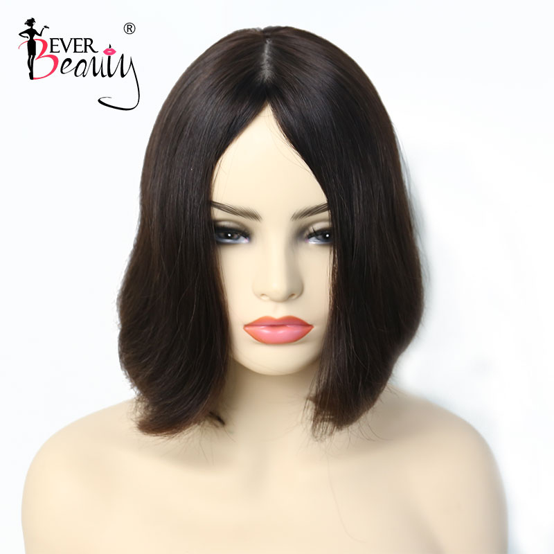 Jewish Wig Kosher Wigs European Hair Wig Double Drawn Natural Silk Straight Human Hair Wigs For Women Remy Hair Ever Beauty