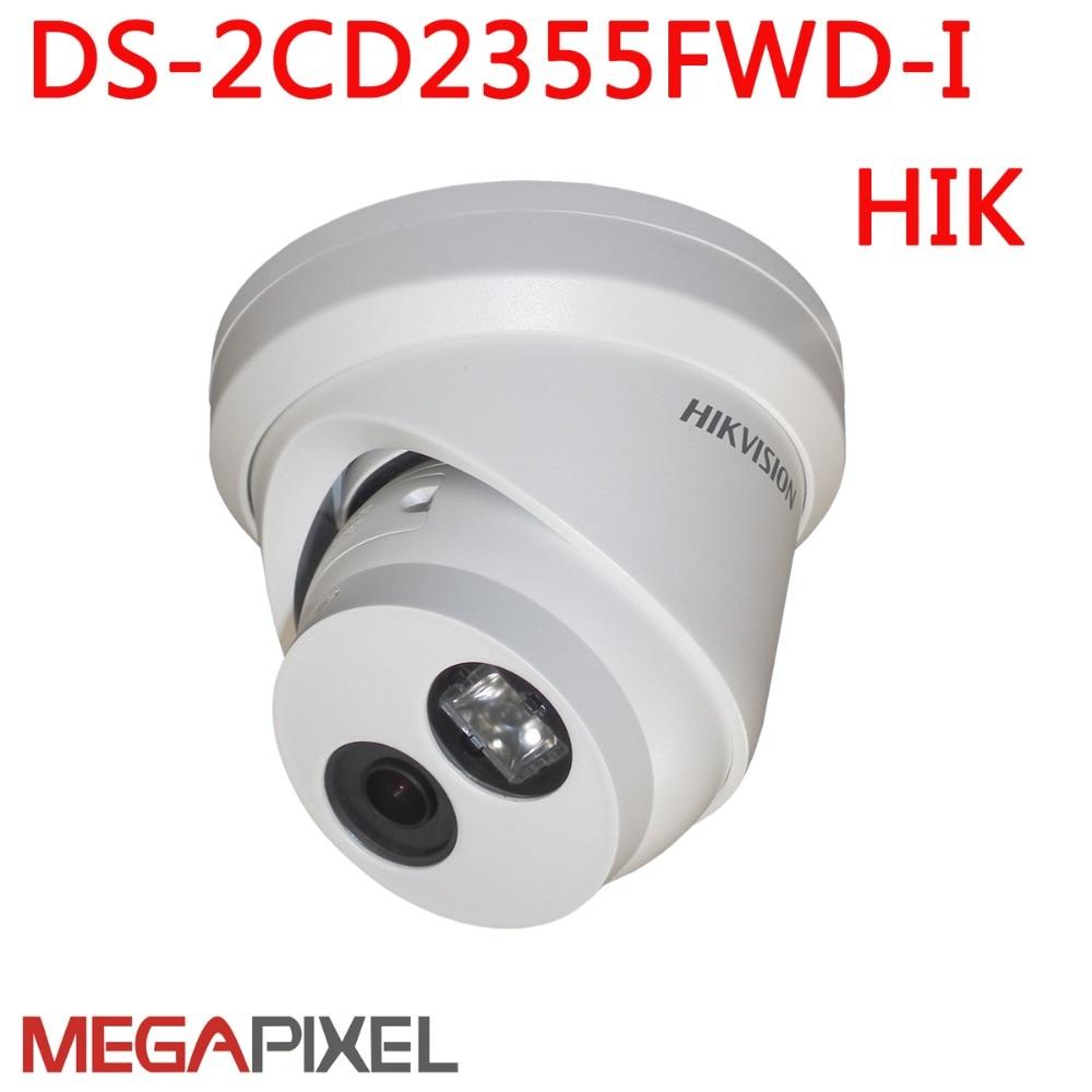 Megapixel 5mp Ip camera cctv video surveillance security camera DS 2CD2355FWD I POE EXIR Dome ipc