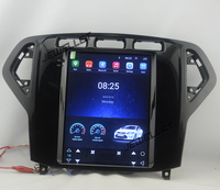 10.4 tesla style vertical screen Octa core Android 8.1 Car stereo GPS navigation for ford Mondeo 2007 2010