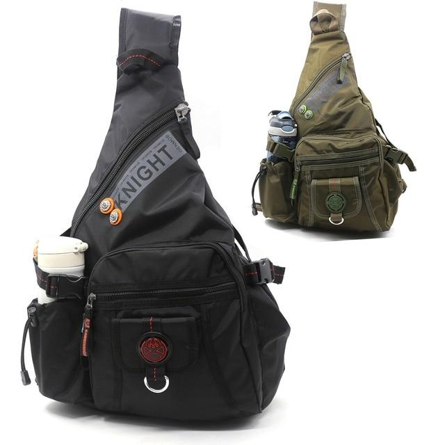 b793a86f6ca8 New Men Shoulder Chest Bag Nylon High Quality Large Capacity Travel Military  Cross body Messenger Bags