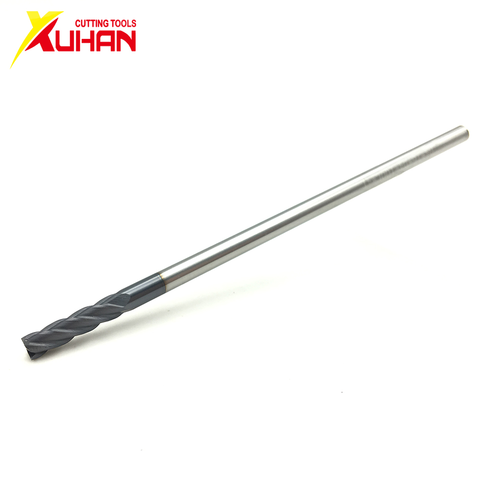 4Flute Φ4.0*4D*100L HRC50 CNC Machine Tool Solid Carbide Endmill Tungsten Steel Milling Cutter End Mill Cuttering Tool Endmill
