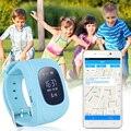 Q50 gps gsm gprs smart watch kid criança localizador rastreador alarme anti-perdido inteligente pulseira inteligente smartwatch com caixa de monitor remoto