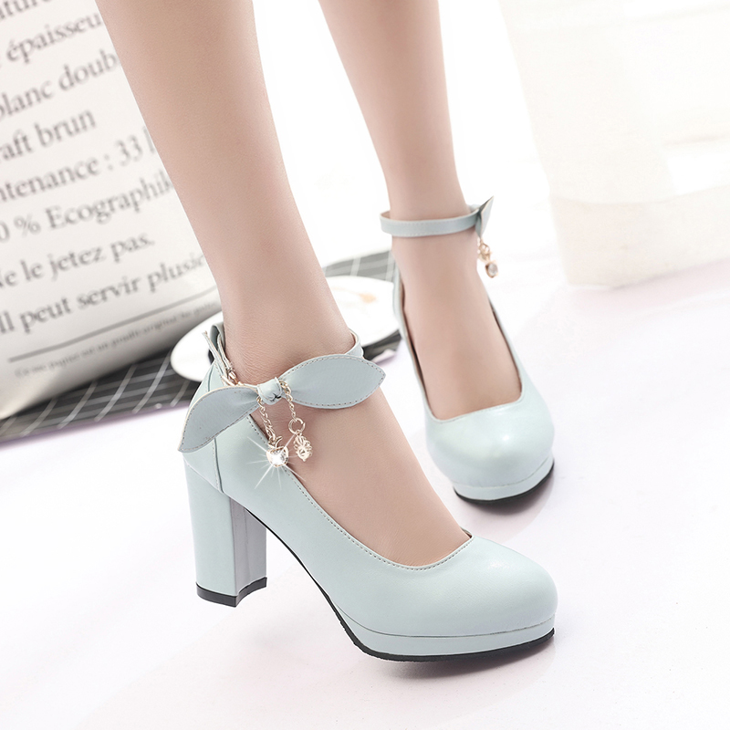 IMKKG New 2017 Summer Women Shoes Mary Jane Ladies High Heels White Wedding  Shoes Thick Heel Pumps Lady Shoes G107-in Women s Pumps from Shoes on ... 4d6c32e31f5c
