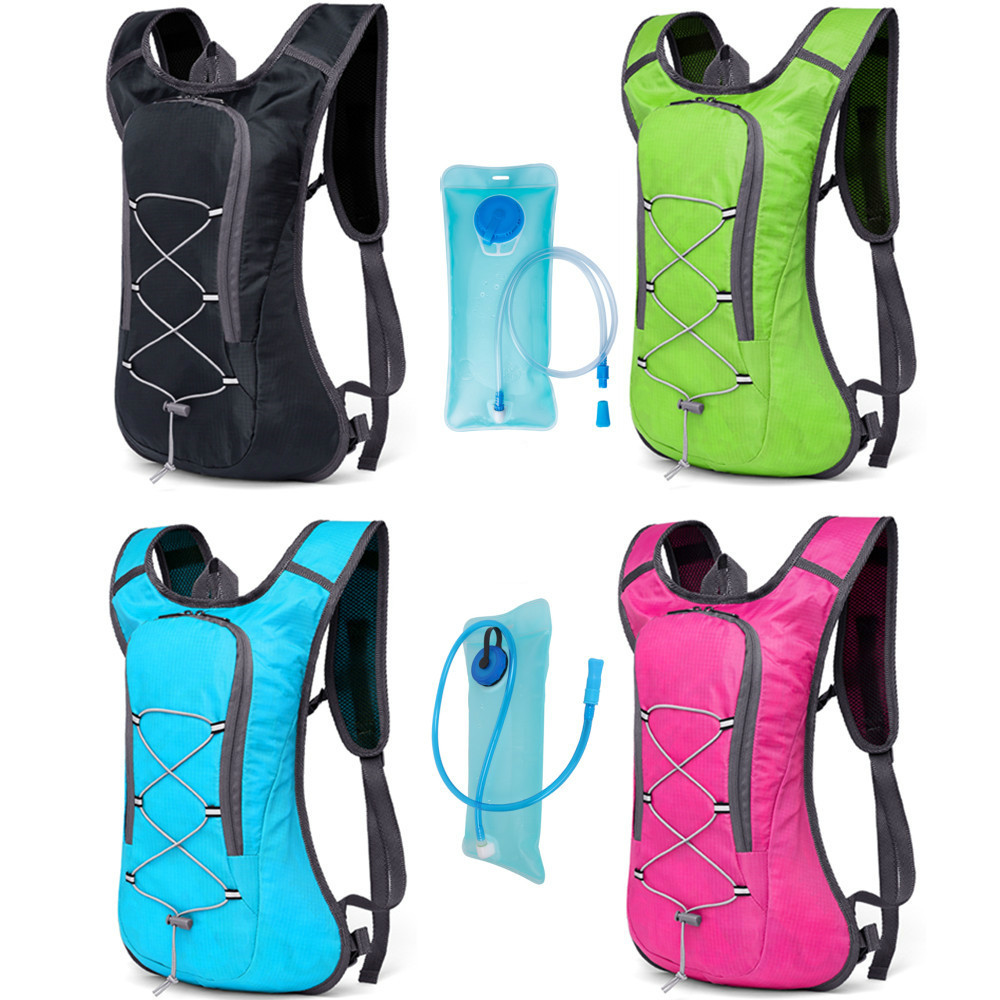 Hotspeed Cycling 2L Water Bag Hydration Backpack For Camping Hiking Riding Cycling Camel Bag Water Bladder Container
