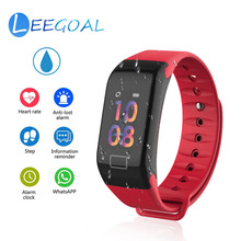 Good Watch T1 Plus Health Tracker Exercise Tracker with Pedometer Blood Strain Coronary heart Price Monitor IP67 Waterproof