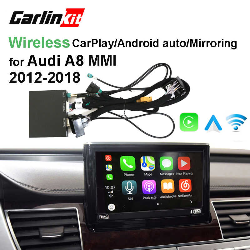 2019 Car Apple CarPlay Android Auto Wireless Decoder for