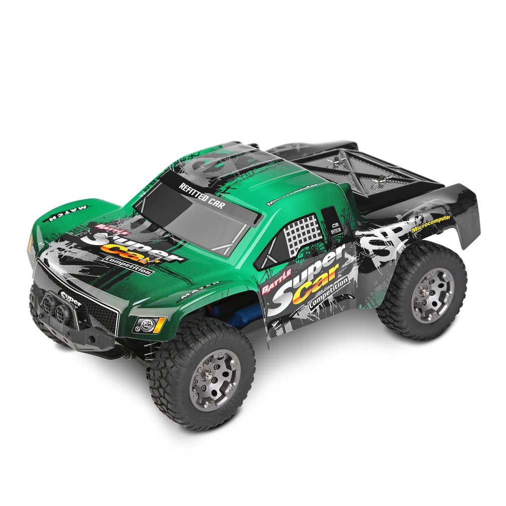 Wltoys 12403 1/12 2.4G 4WD 45km/h High Speed Waterproof Short Course Truck Off road RC Car Buggy Toys Remote Control Vehicle