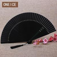Chiński Wiatr-style Silk Składane Wentylatora Hollow w stylu Japońskim Starożytne Rzemiosło Prezent Taniec Klasyczny Fanów Strony Ślubne Strona Główna dekoracji