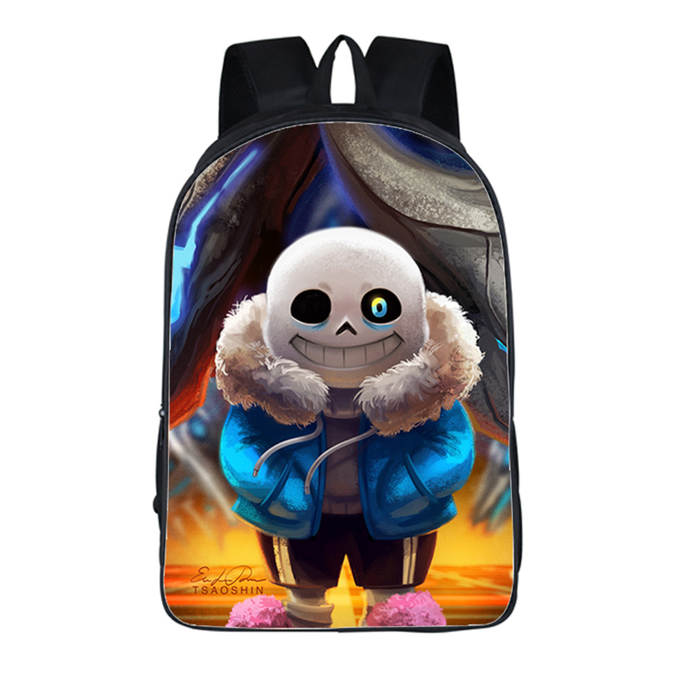 2017 New Women Bags Hip-Hop style Game Undertale Backpack Students School Bag For Girls Boys knapsack mochila Private customize women school bags kawaii 3d book bags for teen boys and girls 3d jump style 2d drawing escolar mochial printed game bags fcf cb