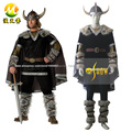 Viking Warrior Cosplay Costume Halloween Party Carvinal cosplay costumes for Adult Men custom made