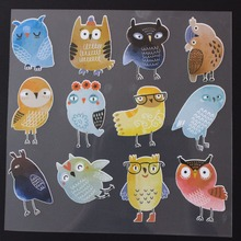 Decorative cute patch vinyl heat transfer stickers / stickers easy to print household electric iron TH-020 недорого
