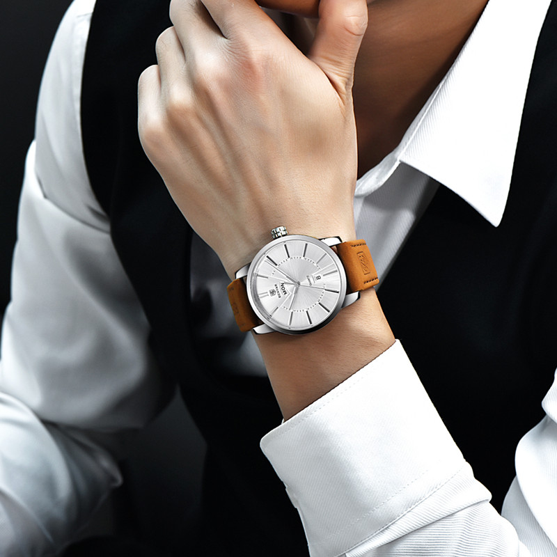 2017 NEW NEW Luxury Brand BENYAR Տղամարդկանց - Տղամարդկանց ժամացույցներ - Լուսանկար 6