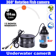 Fish Finder Underwater Camera 18 LED Lights 150M Cable Rotate 360 Degree
