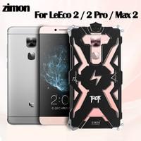 Zimon cho Letv LeEco Le 2 Pro S3 X626 MAX 2 Trường Hợp kim loại Toàn thân Nhôm Chống Sốc Dropproof Bìa cho Le LeEco 2pro Max2 Trường Hợp