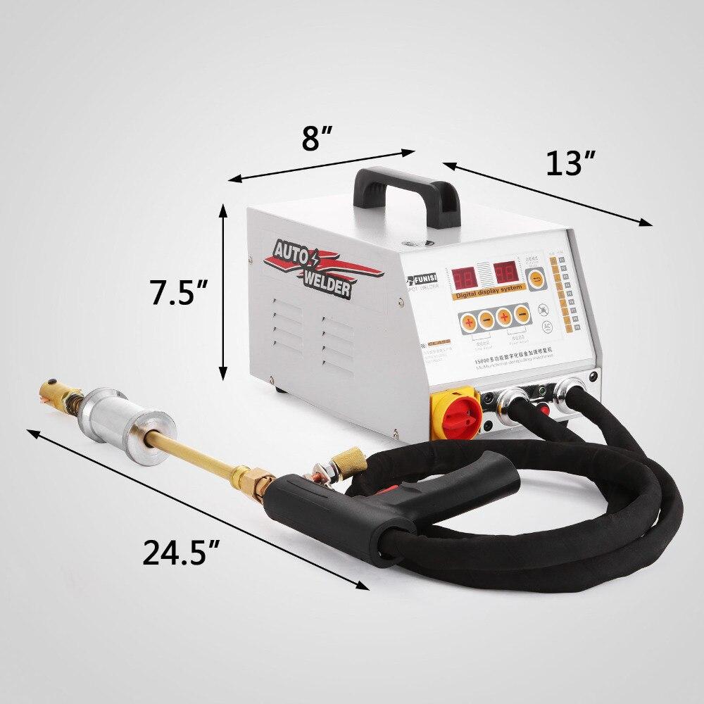 Mini soldador de punto/cuerpo de acero soldador de doble lado GYS2700QXHJ