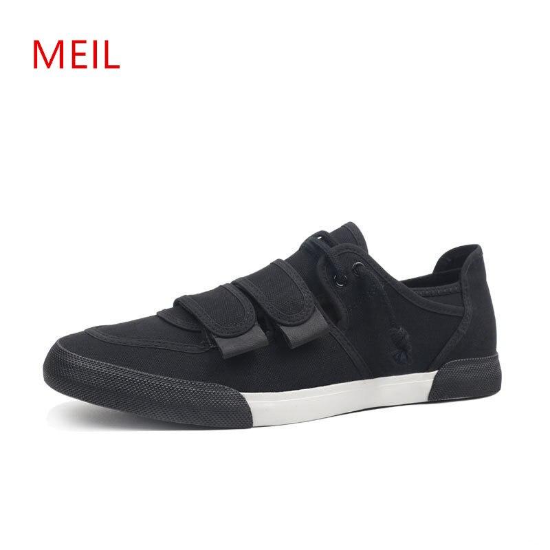 Mode hommes baskets mocassins décontractés hommes rouge noir toile homme chaussures hommes respirant chaussures pour hommes Alpargatas Moda Hombre 2018