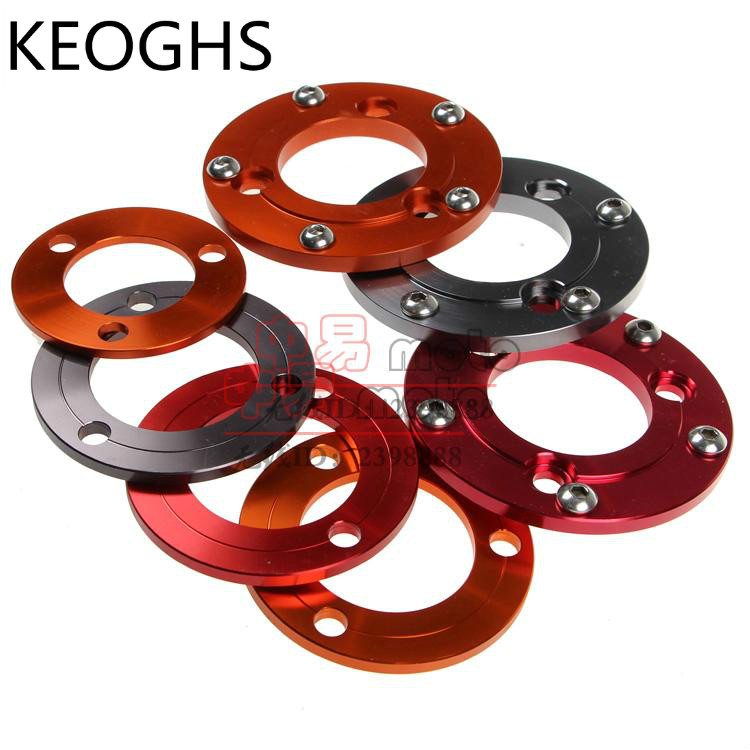 Keoghs Motorcycle Refit Wheel/rim Washers/adapter/spacer/shim 70mm/57mm 5 Hole/3 Hole For 200mm/220mm/260mm Brake Disc forever sharp a01 56p steering wheel adapter 5 6 hole billet alum