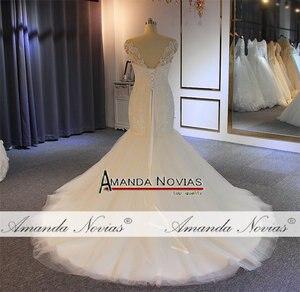 Image 4 - Vestido de novia de sirena con cuentas