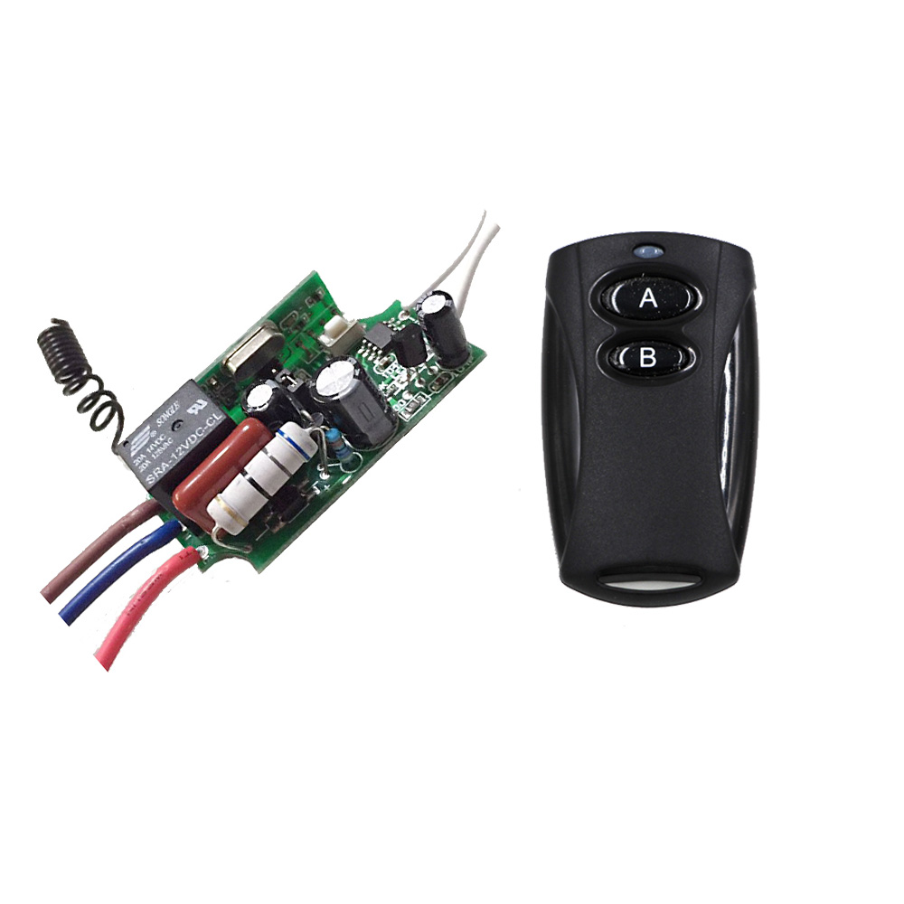 New Product 1 CH ON/OFF 220V Wireless Remote Control Switch Digital Remote Control Switch for Lamp & Light 315MHZ 4 channel on off control switch power digital wireless remote control light lamp drop ship