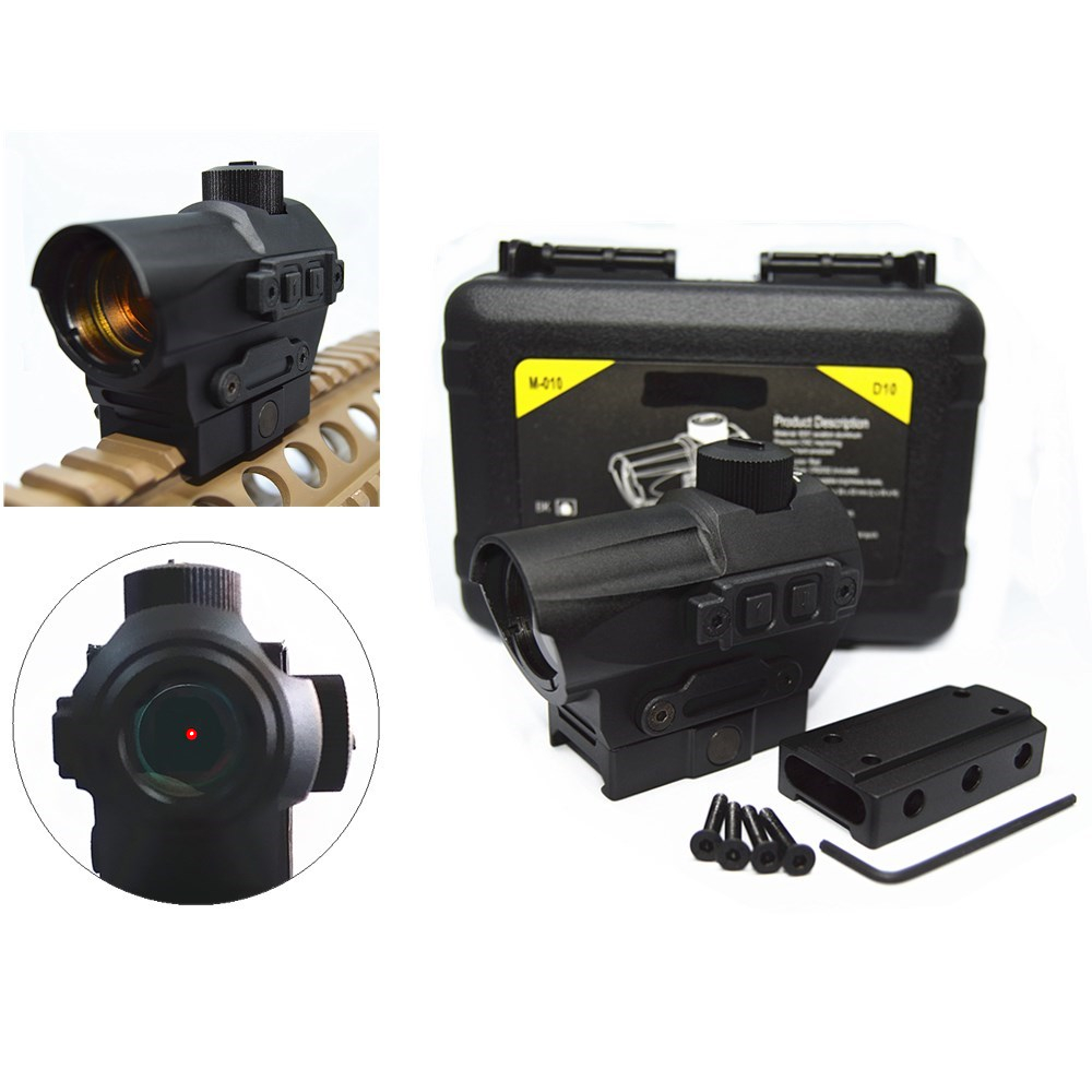 FIRECLUB Hunting Red Dot Sight 1 5 MOA Mini Red Dot With 20mm Riser Mount Rifle
