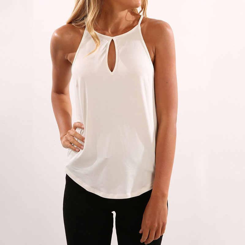 ฤดูร้อนเสื้อผ้าผู้หญิง 2019 ผู้หญิง tops haut femme สบายๆ tank top camiseta tirantes mujer debardeur femme