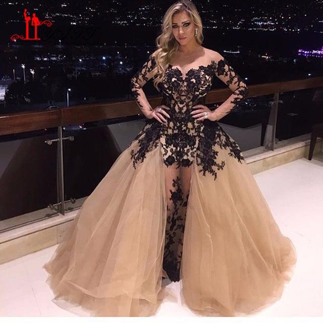 2017 heiße Promi kleid Arabisch Design Saudi arabien Abendkleid ...