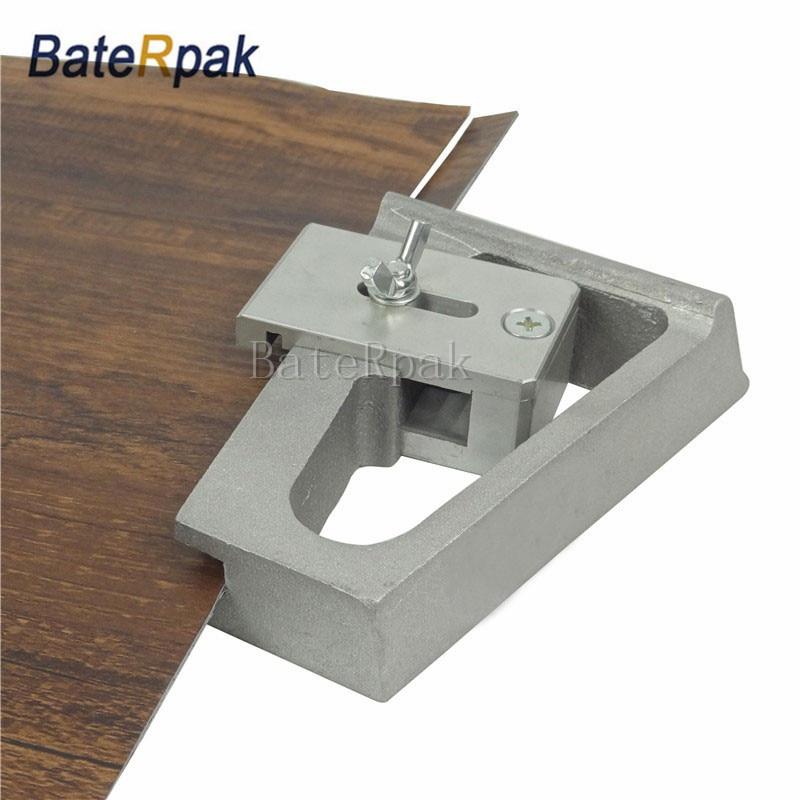 BateRpak PVC floor wall edge cutter,aluminum handle roll floor cutter,cut edge size 10-23mm adjustable,with 5pcs blade