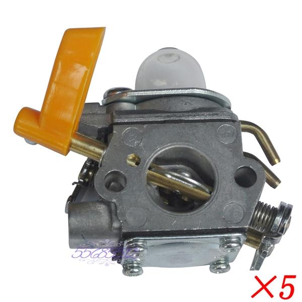 5Pcs Carburetor Carb For Homelite Ryobi ZAMA C1U-H60D 308054003 985624001 carburetor carb for homelite ryobi trimmer zama c1u h60