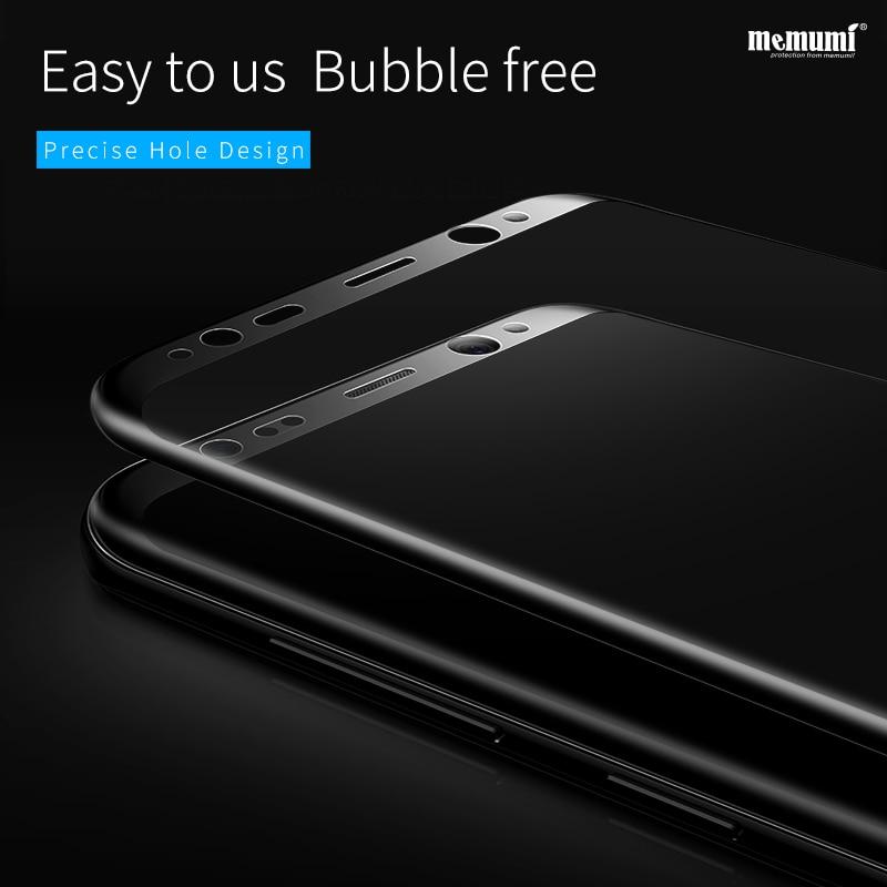 Memumi Tempered Kaca Film untuk Samsung Galaxy S8 plus Nano 9 H 3D - Aksesori dan suku cadang ponsel - Foto 3