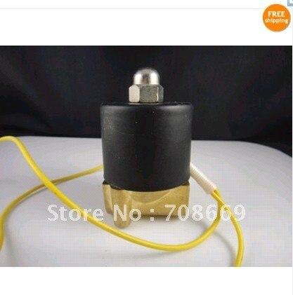 """24 В DC 2 Вт 1/"""" Электрический Электромагнитный Клапан для Железнодорожного Вода Воздух Трубопровода"""