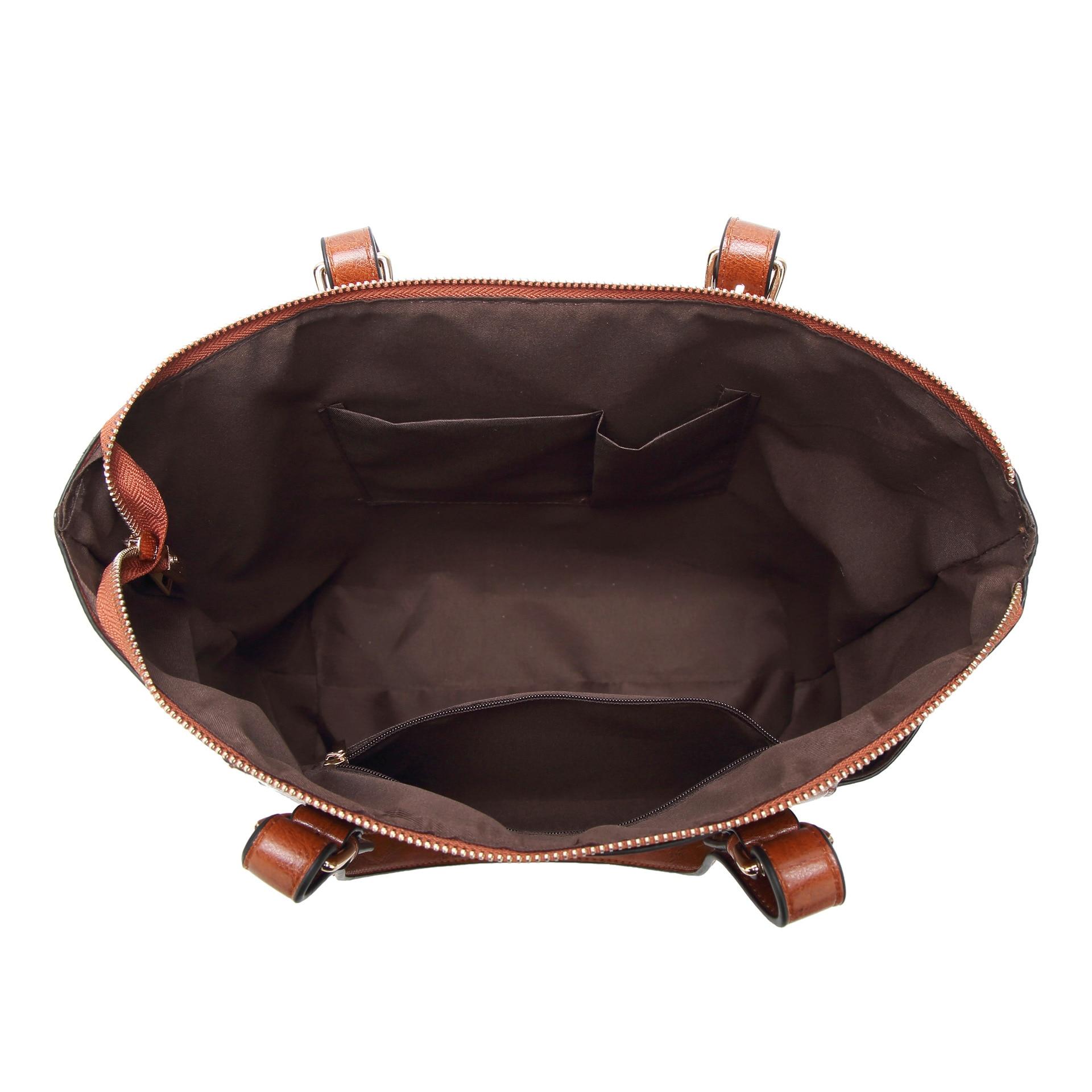 2018 Fashion Handbag Retro Europe och USA Shoulder Messenger Bag - Handväskor - Foto 4