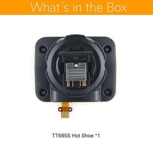Image 2 - Godox TT685C TT685N TT685S TT685F TT685O Flash Speedlite accessoires chaussures chaudes