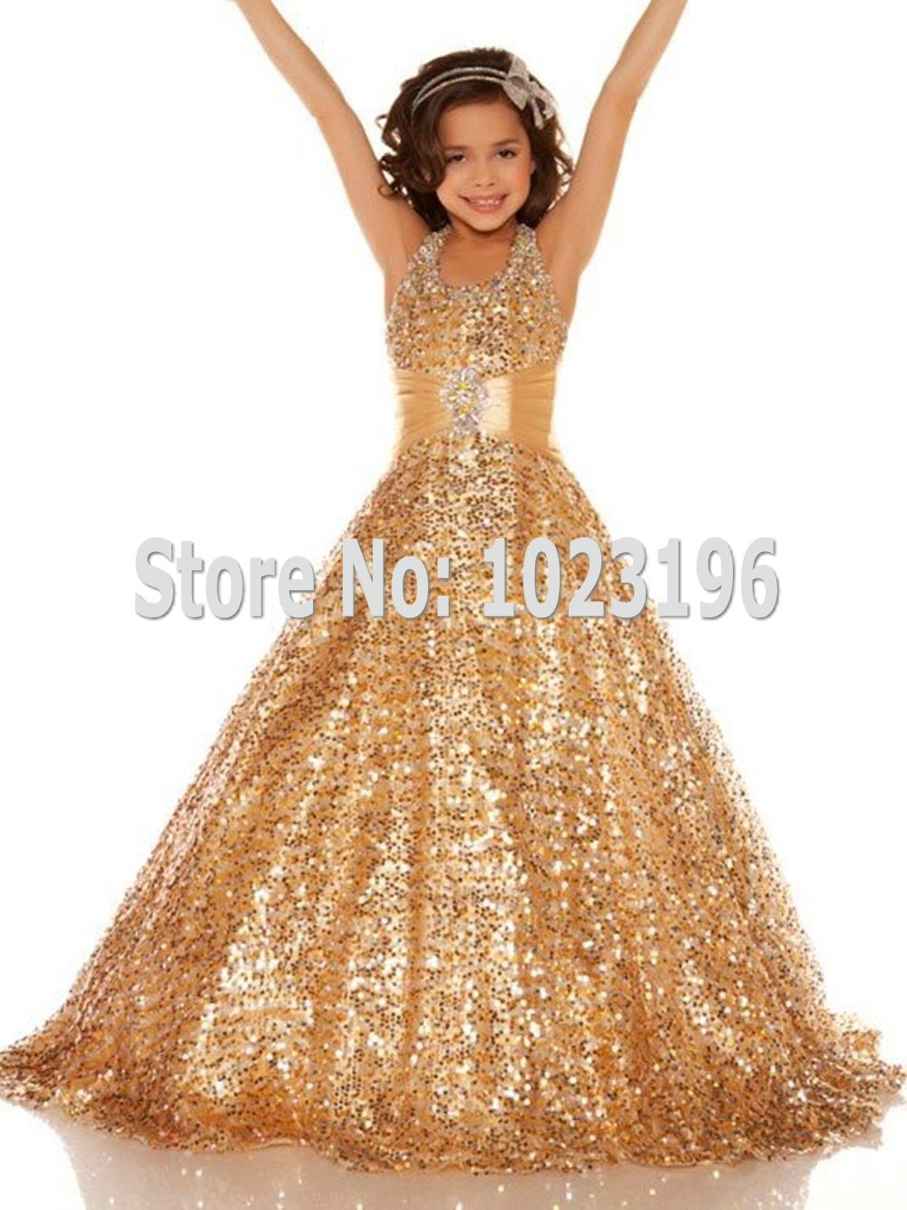 Compare Prices on Gold Flower Girl Dress- Online Shopping/Buy Low ...