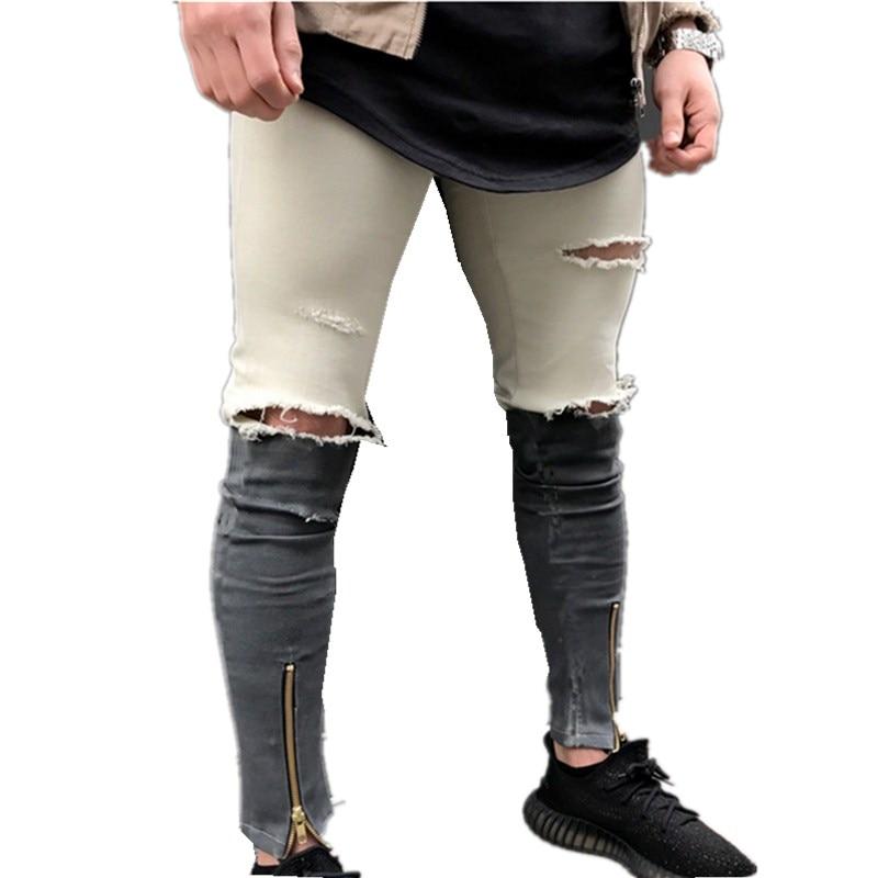 Hirigin Uomini Pantaloni Casual Sottile Estate Etero Slim Fit Blue Jeans Stretch Denim Pantaloni Classici Cowboys Uomo Pantaloni Delizie Amate Da Tutti