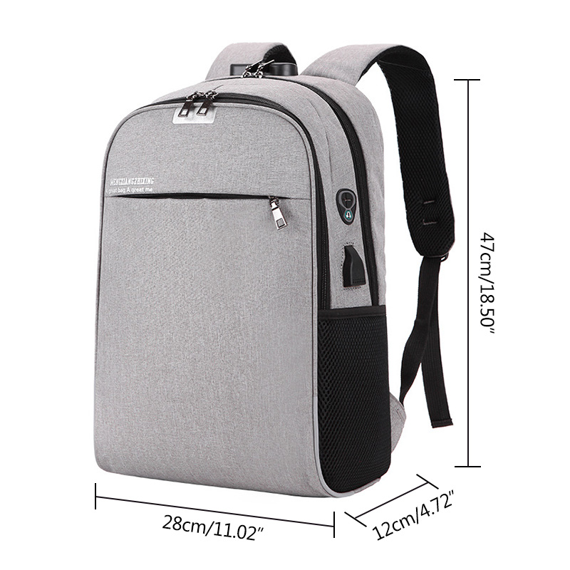 USB Charging 15.6inch Laptop Backpack for Women Men Notebook Mochila Travel School Bag for Teenage Anti-theft Laptop Backpack 14 inch waterproof oxford usb charging men s women backpack mochila for womens school bag pack laptop notebook xd design bobby