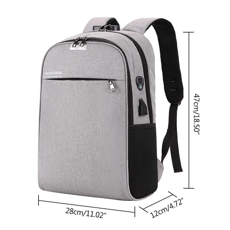 USB Charging 15.6inch Laptop Backpack for Women Men Notebook Mochila Travel School Bag for Teenage Anti-theft Laptop Backpack